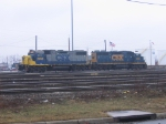 CSX 2763 and 2566