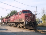 CP 9578 leads a NB manifest  (251) at 9:14am
