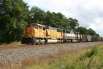 BNSF 9970 with empty hoppers