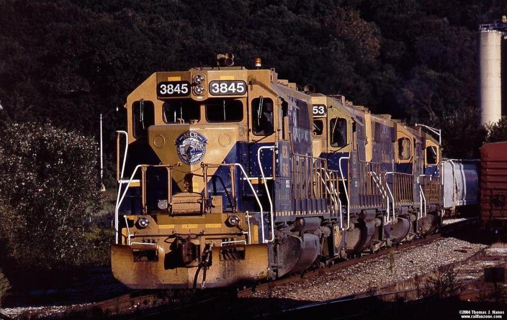 NECR train 608