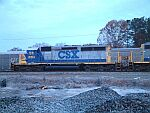 Early morning shot of CSX 8153