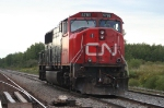 CN 5785, sidlined with a scraped chin