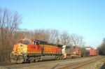BNSF 4399 NS 13E southbound on the NS Buffalo Line.