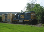 CSX 2708 and D716