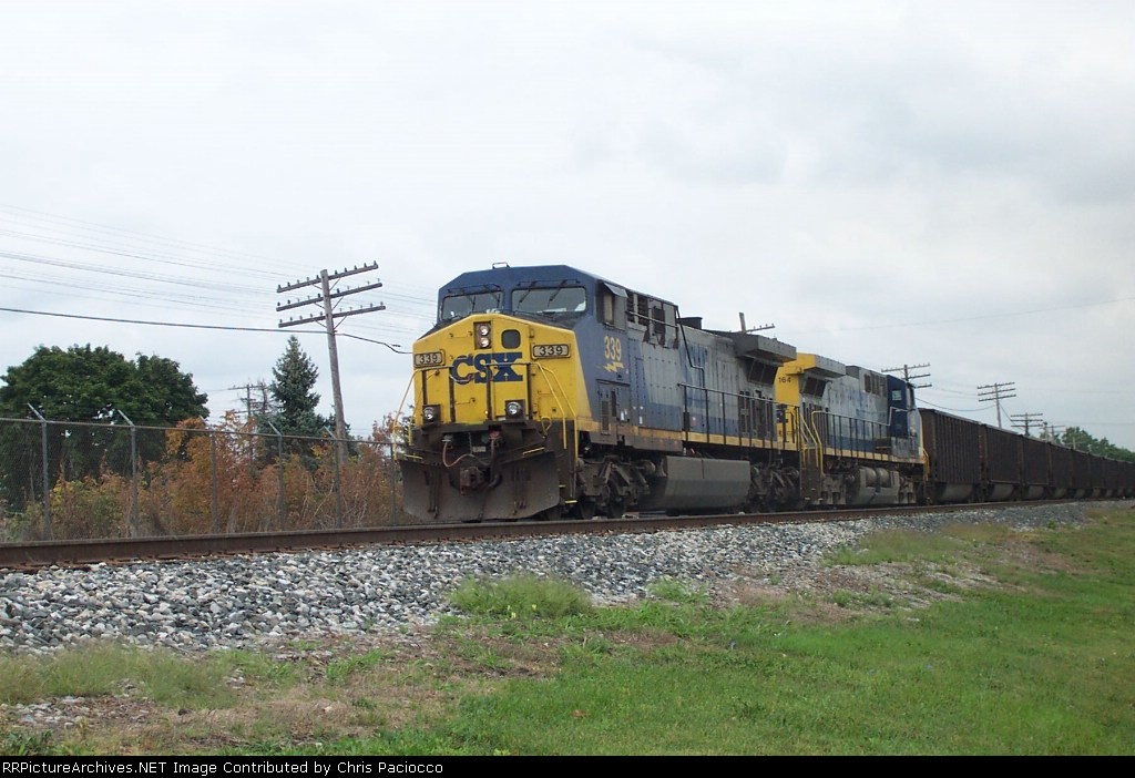 CSX 339 and 164