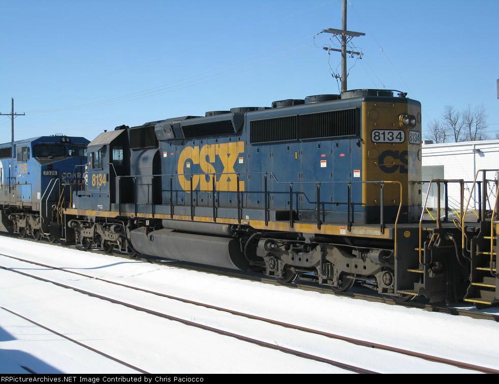 CSX 8134
