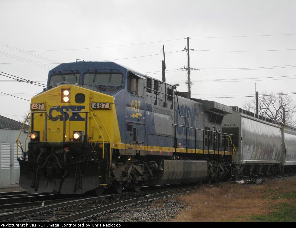 CSX 487 Leading Q327