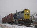 D745 with Snowfall