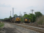 Y107 Waits For Southbound Coal Train