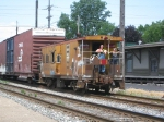 Chessie Caboose Leading Y107