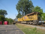 CSX 8864 and UP 7649