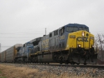 Q216 With Ex-Conrail Unit Trailing