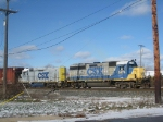 CSX 6474 and CSX 2266 With D717