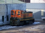 BNSF 3644 Rests in the Yard