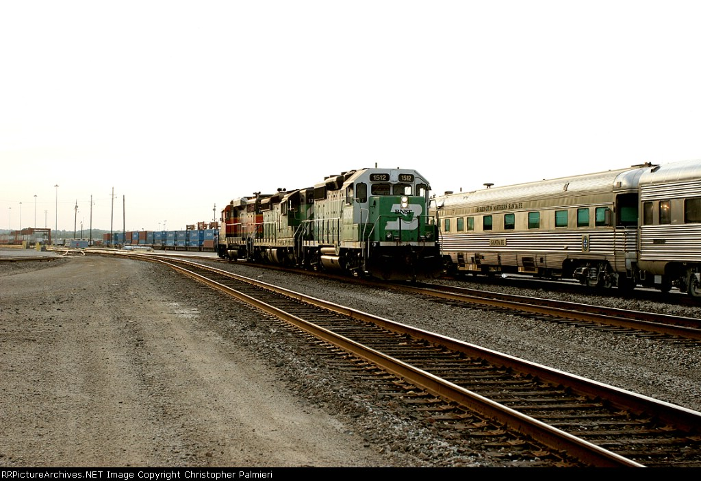BNSF 1512, 1727, and 2803