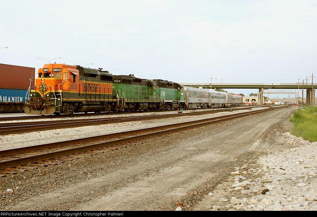 BNSF 2803, 1727, & 1512