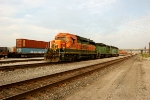 BNSF 2803, 1727, and 1512