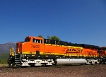 BNSF 7597 & Loneman Mountain