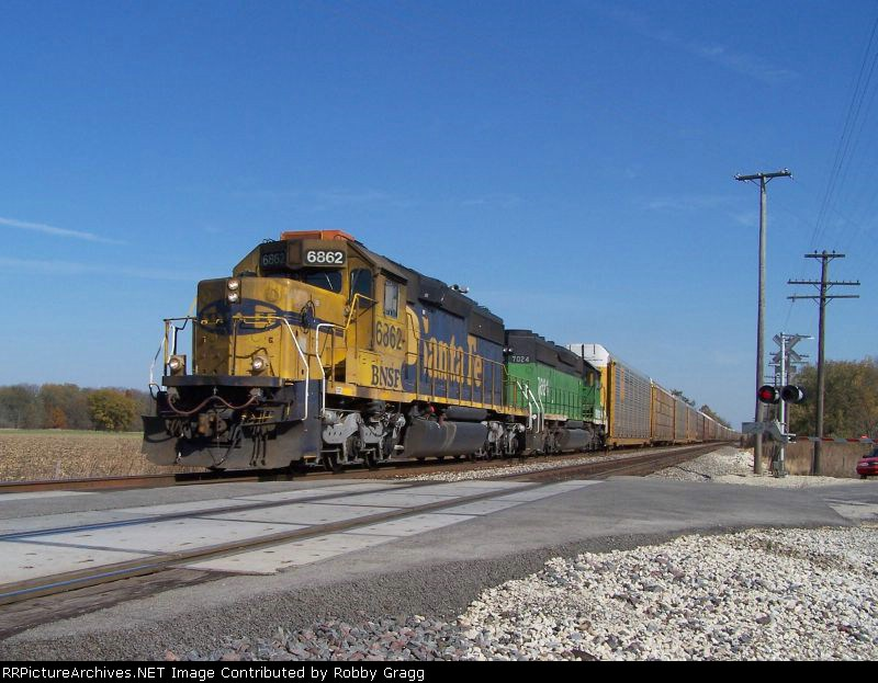 BNSF heritage duo