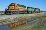 Unusual BNSF Galesburg Hump Set