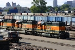 BNSF SD40-2s with wierd numbers