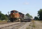 Grain train heads for Fargo