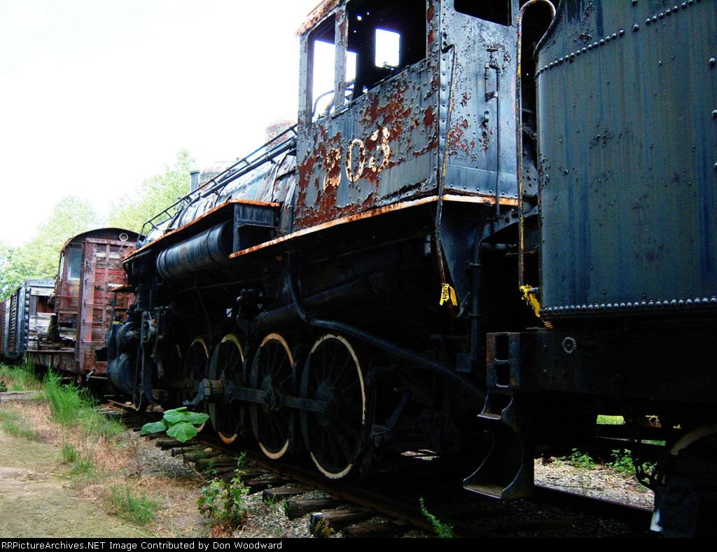 GM 203 at Southeastern Railway Museum