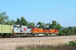 BNSF 4988/BNSF 4647/TFM 1644-east bound