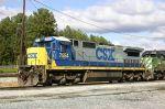 CSX 7554 Poses