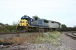 CSX 8606 west