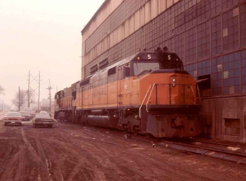 Milwaukee Road FP45