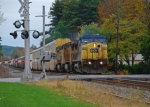 NS 212 with CSX and UP