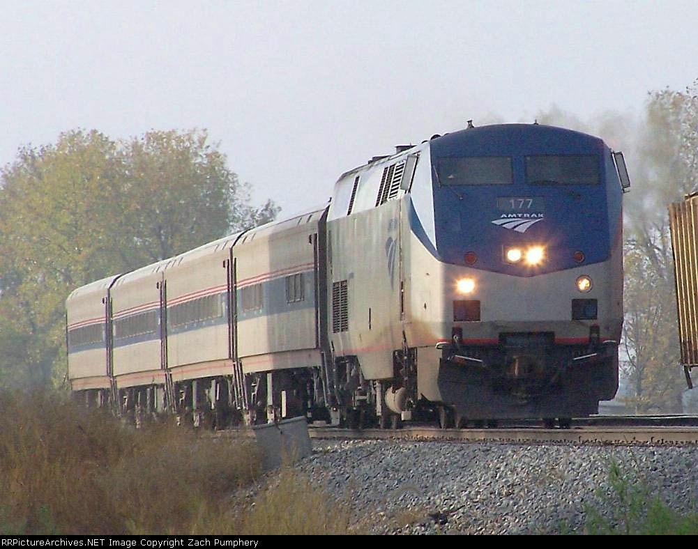 Northbound Amtrak Saluki Train #390
