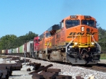 Southbound BNSF Loaded Grain Train