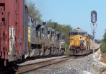 Northbound KCS Manifest Meeting a Southbound KCS Loaded Coal Train