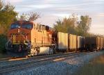 Southbound KCS Loaded Coal Train DPU