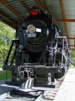 Displayed IC 2500 4-8-2 Mountain Steam Locomotive