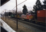 ATSF 553 & 5210 with BN 7922