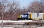 CSX 1170 working at the west end