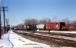 CSX 2651 & 2517 bringing D727 into the yard