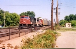 CN 5772 leading west