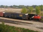 CSX 180798 & CN 5749