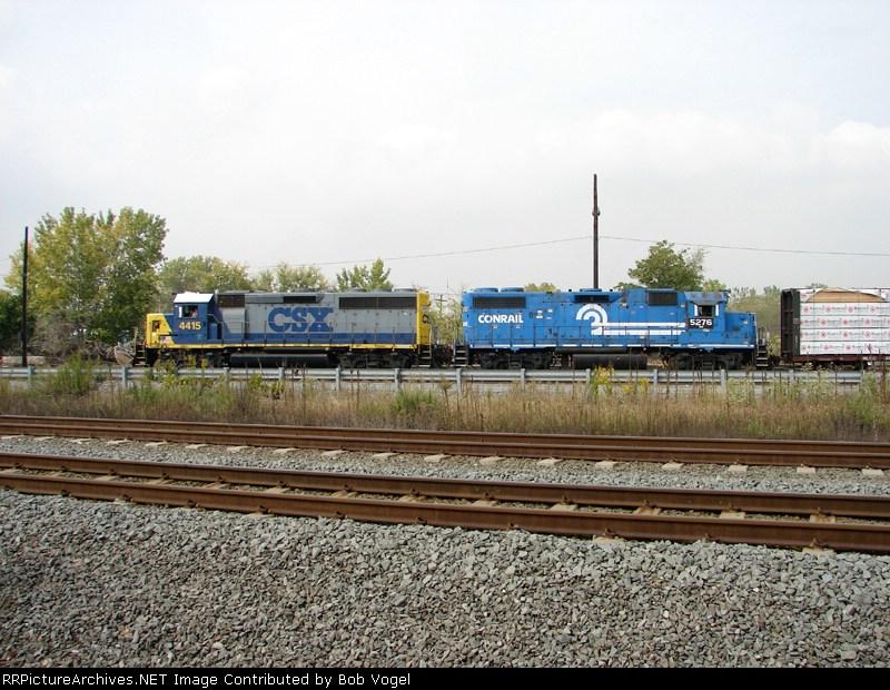 CSX 4415 & NS 5276