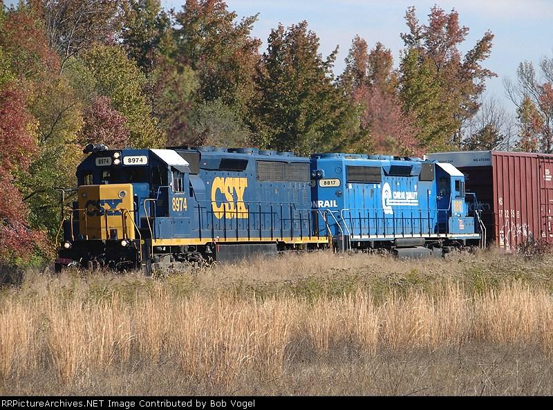 CSX 8974 & 8817