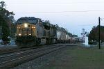 INTERMODAL IN THE EARLY MORNING IN FOLKSTON