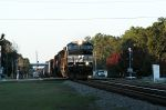 late day south bound at folkston