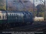55022 'ROYAL SCOTS GREY leaves Huntingdon on 1Z50.