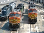 HLCX 7169, BNSF 5519 and 4921