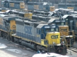 CSX 8834, 8848, 8831, 8415, & 8841