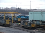 CSX 4601, 9025, 7609 & 6218